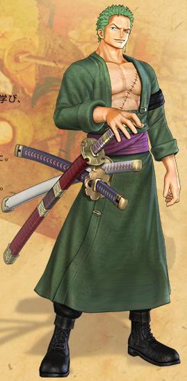 Zoro One Piece Time Skip [R] Roronoa Zor...