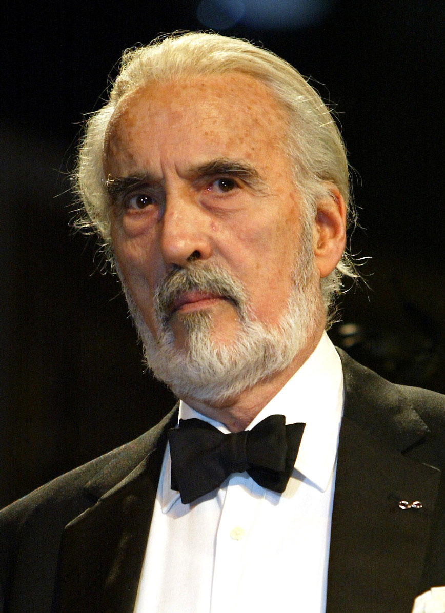 Sir CHRISTOPHER LEE - Lord of the Rings Wiki