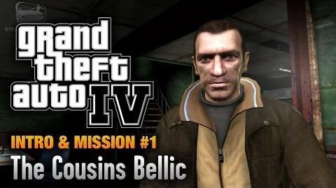 GTA 4 - Intro & Mission 1 - The Cousins Bellic (1080p)-1