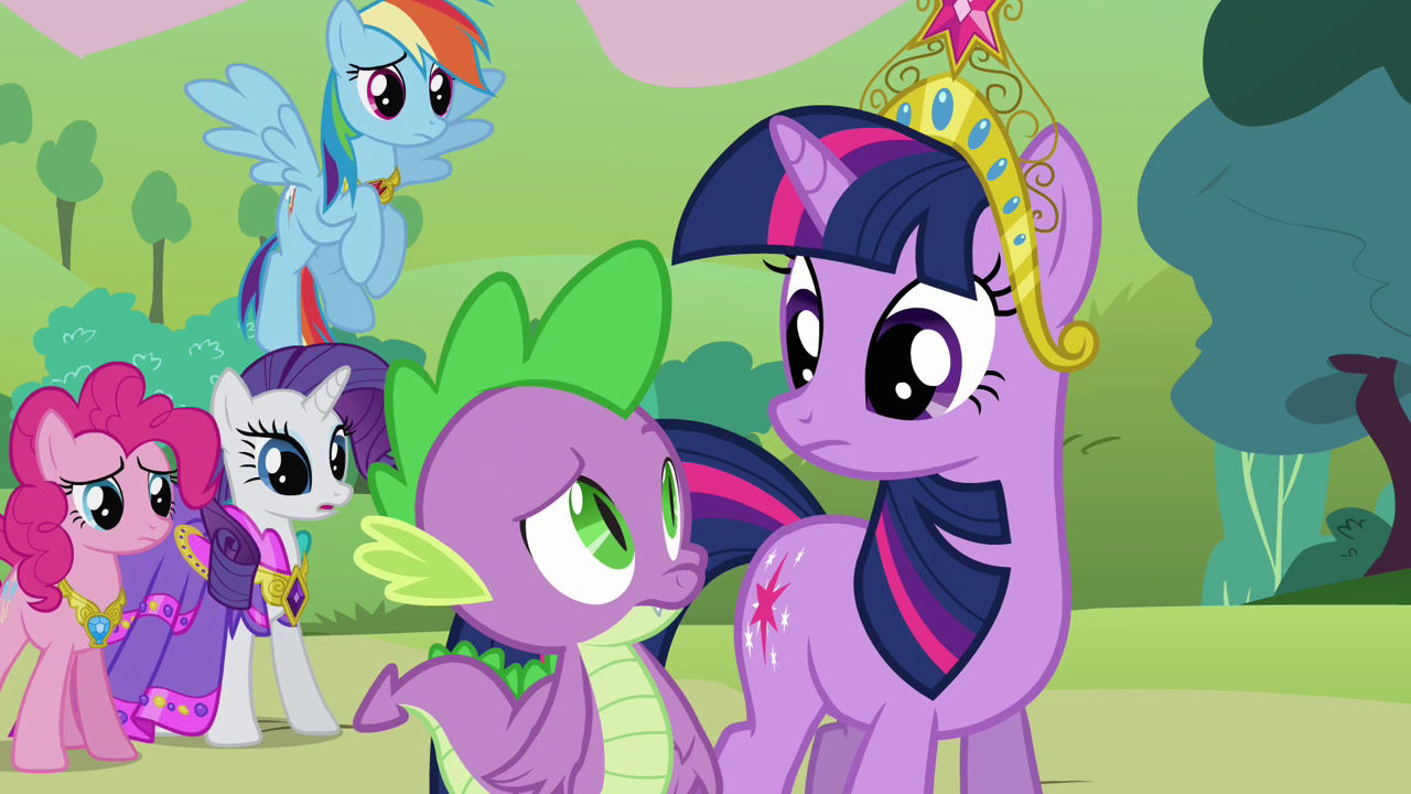 My Little Pony Coloring Pages Twilight Sparkle And Friends : My little pony coloring pages spike ratejna