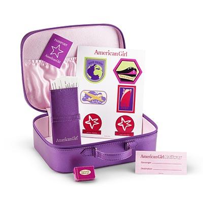 American Girl Doll Travel Luggage Set