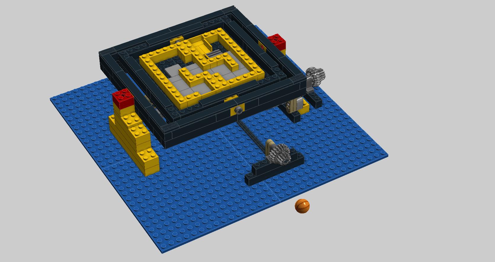 lego marble maze instructions