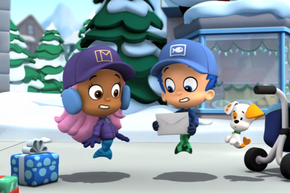 Molly and Nonny. | Bubble Guppies Wiki | FANDOM powered by ...  |Bubble Guppies Nonny Happy