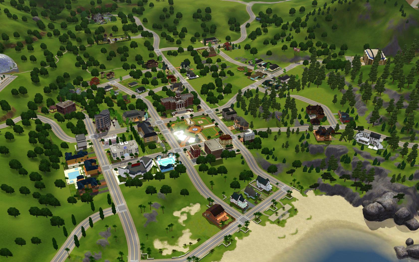 """Как создавать свой город в """"Симс 3"""" без проблем? 78"""