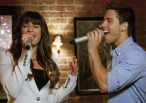 glee rachel and brody first meet