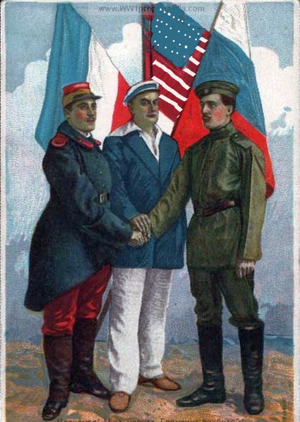 Image - Triple Entente Soldiers and Flags.png - Alternative History