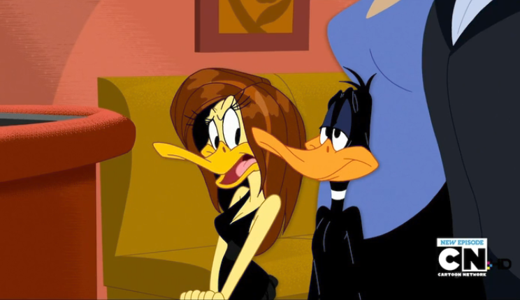 Image - Tina & Daf... Daffy Duck And Tina Duck