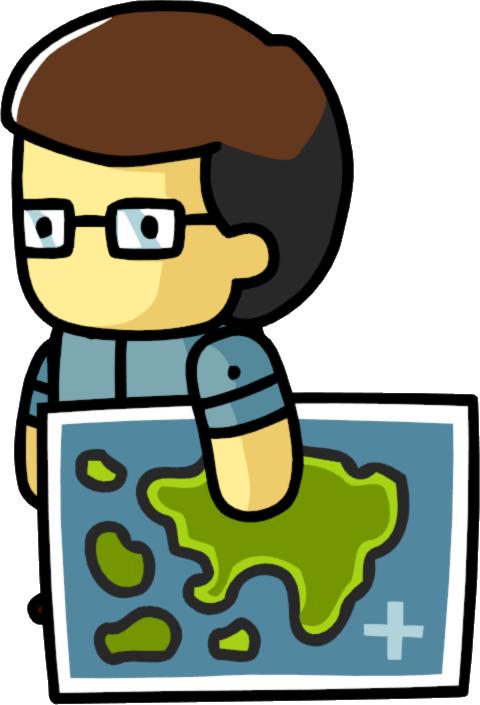 Cartographer scribblenauts wiki