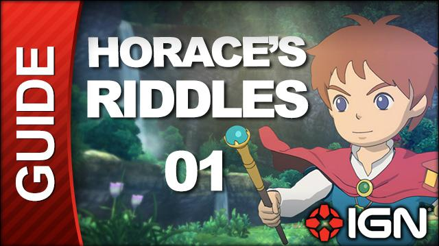 Ni No Kuni Wrath of the White Witch Walkthrough - Horace's Riddles Al Mamoon