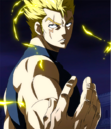 Laxus ready to face Raven Tail.png
