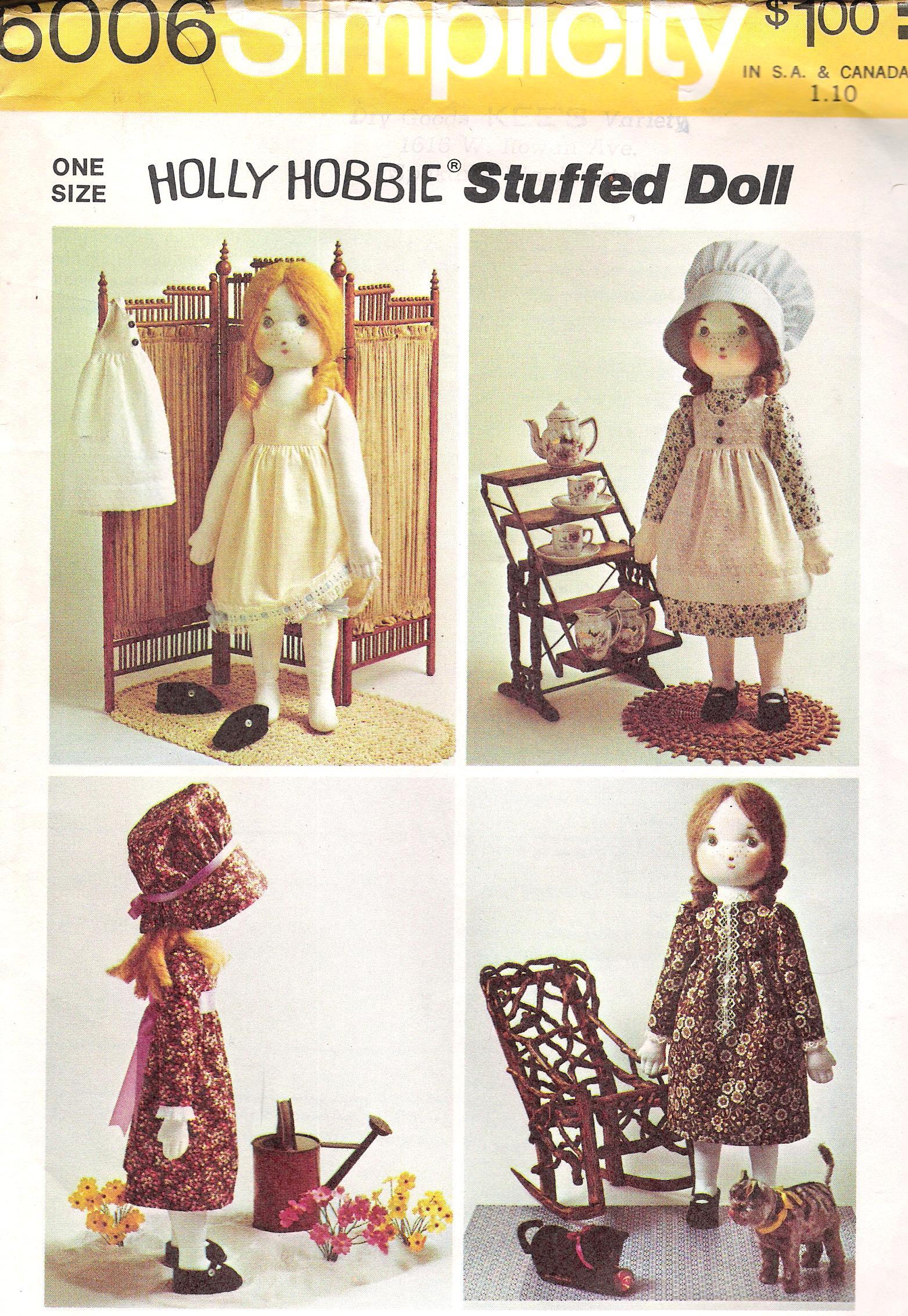 Simplicity 6006 Vintage Sewing Patterns