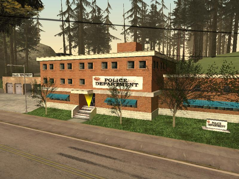 Pictures of Grand Theft Auto 5 Police Station - #rock-cafe