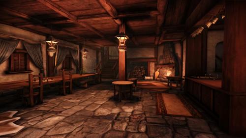 Tavern Redcliffe Village Dragon Age Wiki Wikia
