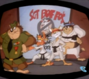 Sgt. Boffo's Ferocious Feline Mouse-Bashing School