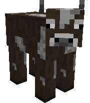 how to make a cow follow you in minecraft