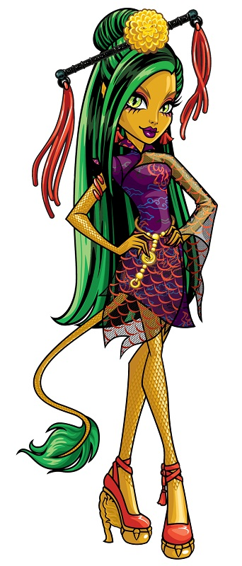 Jinafire Long Cartoon monster high howleen