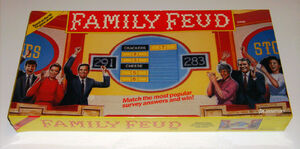 Family Feud 1990 Board Game