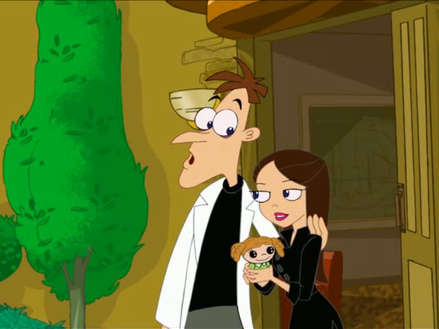Phineas And Ferb Dr Doofenshmirtz Daughter
