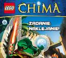 LEGO Legends of Chima: Zadanie: Naklejanie!