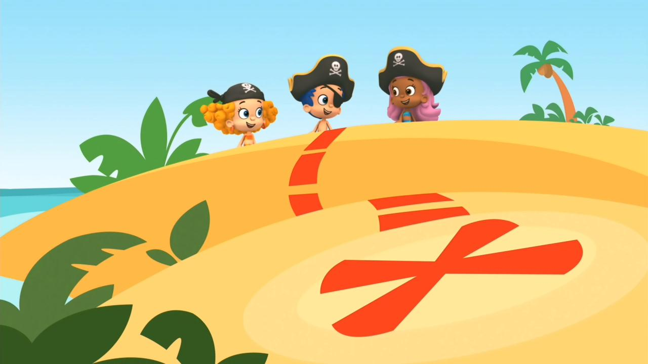 Bubble Guppies  X Marks The Spot Clipart
