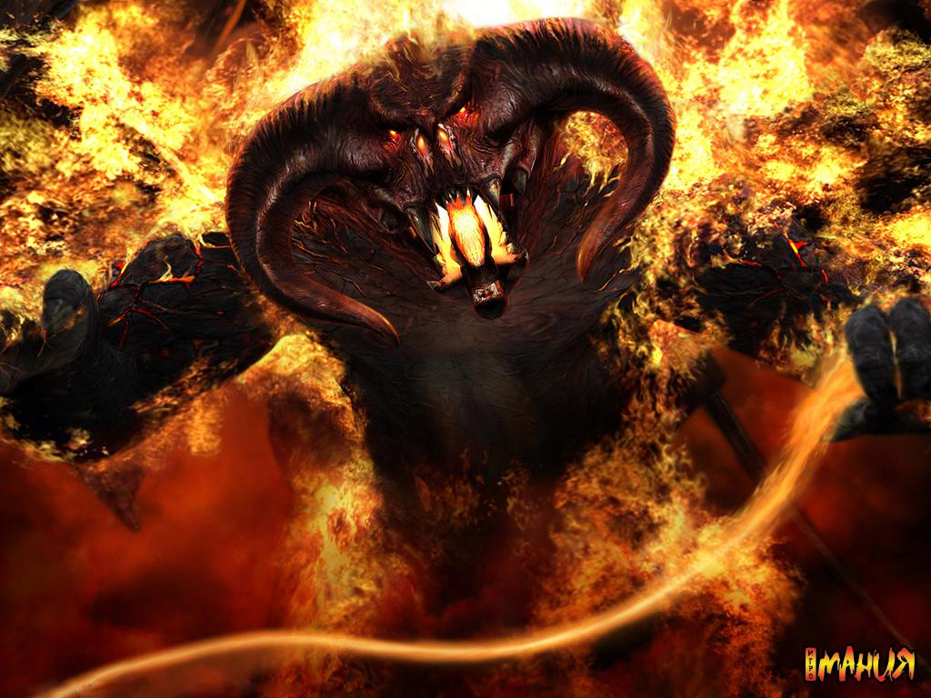 Lord of The Rings Balrog Drawing Balrogs