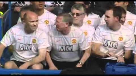 FUNNY - Sir Alex Ferguson & the balloon