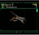 Mosasaurus (Archivo)