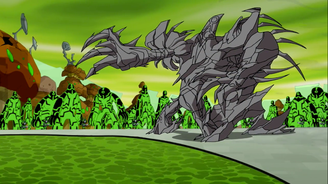 Ben 10 omniverse episode 22 showdown part 1 / Roger