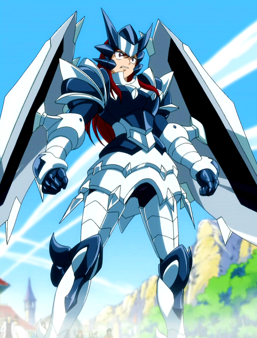 One of the Erza Scarlet's armor - Adamantine Armor 1