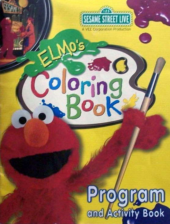 Elmo 39 s coloring book muppet wiki Coloring book wiki