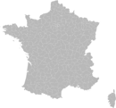 Blank Map of France, with Arrondissements.png