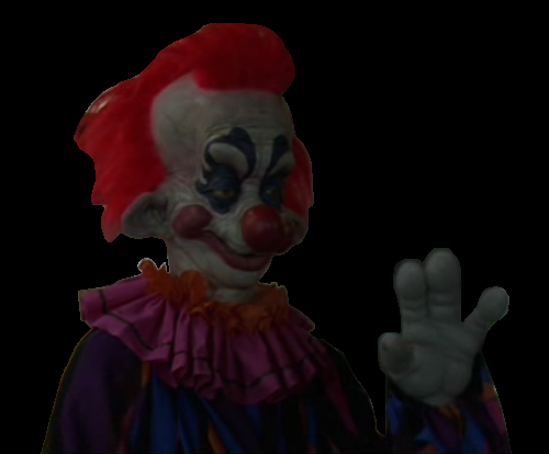 Image rudy killer klown png killer klowns wiki for Who owns outer space