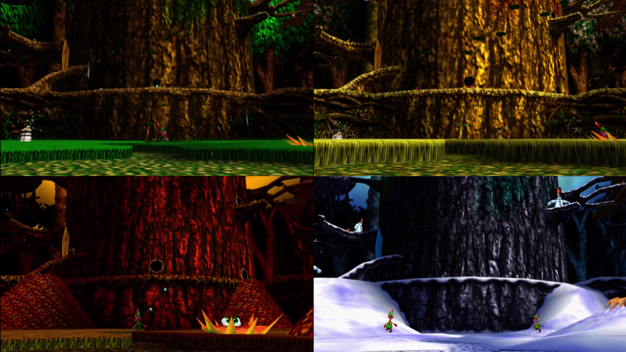 The Large Tree The Banjo Kazooie Wiki Banjo Kazooie