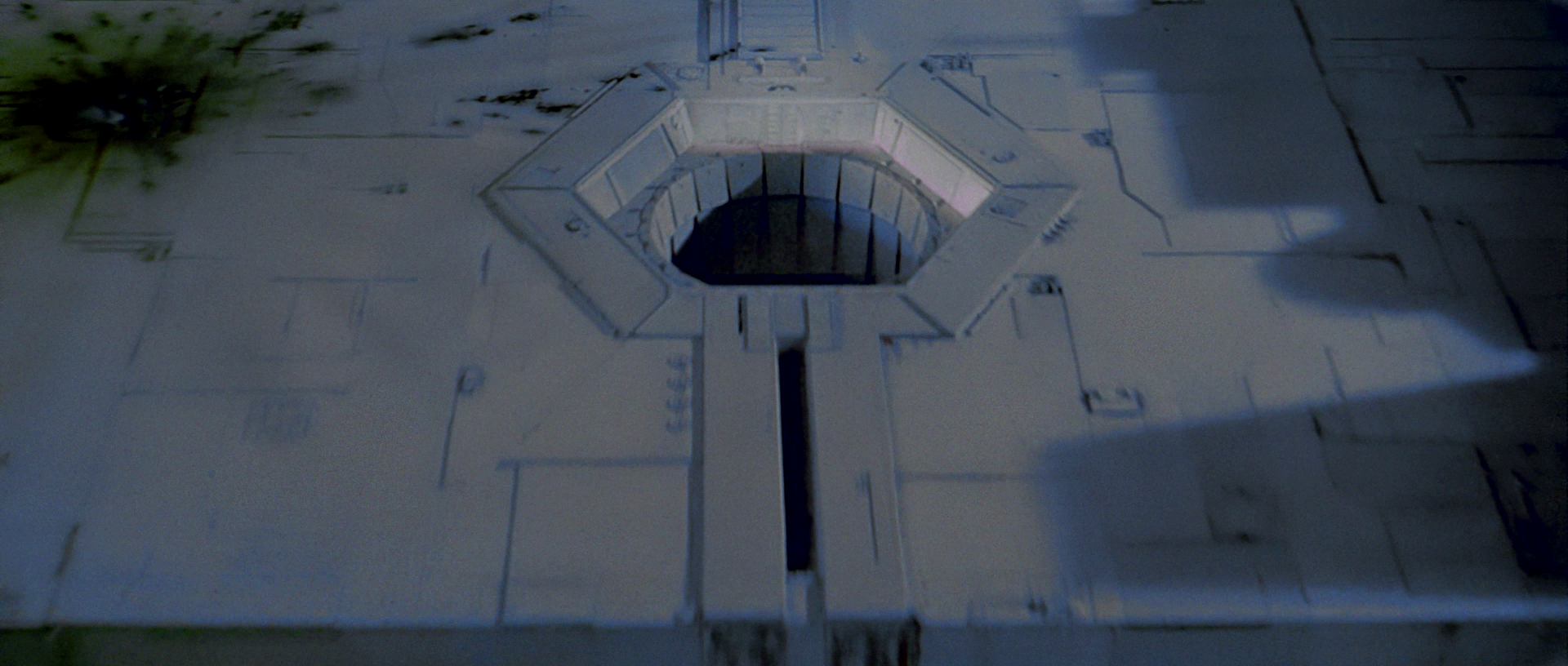 An exhaust port on the first death star