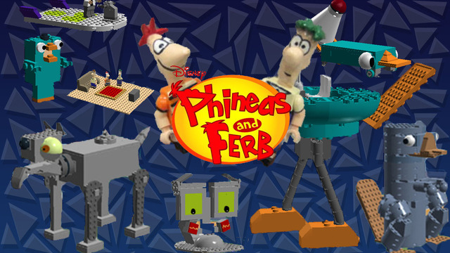 Lego Phineas And Ferb Board Game