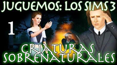 Juguemos Los Sims 3 Criaturas Sobrenaturales (Parte 1 Review) Let's Play en español-0
