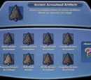 Ancient Arrowhead Artifacts