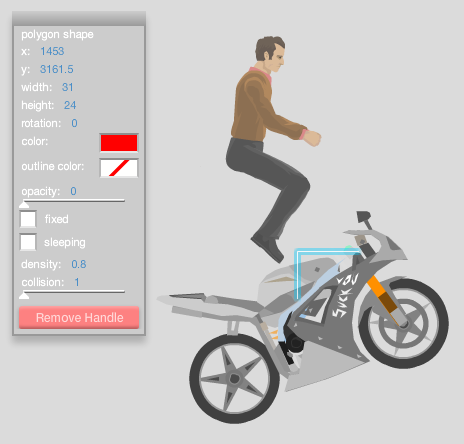 Happy Wheels New Characters Editing the group/vehicle.