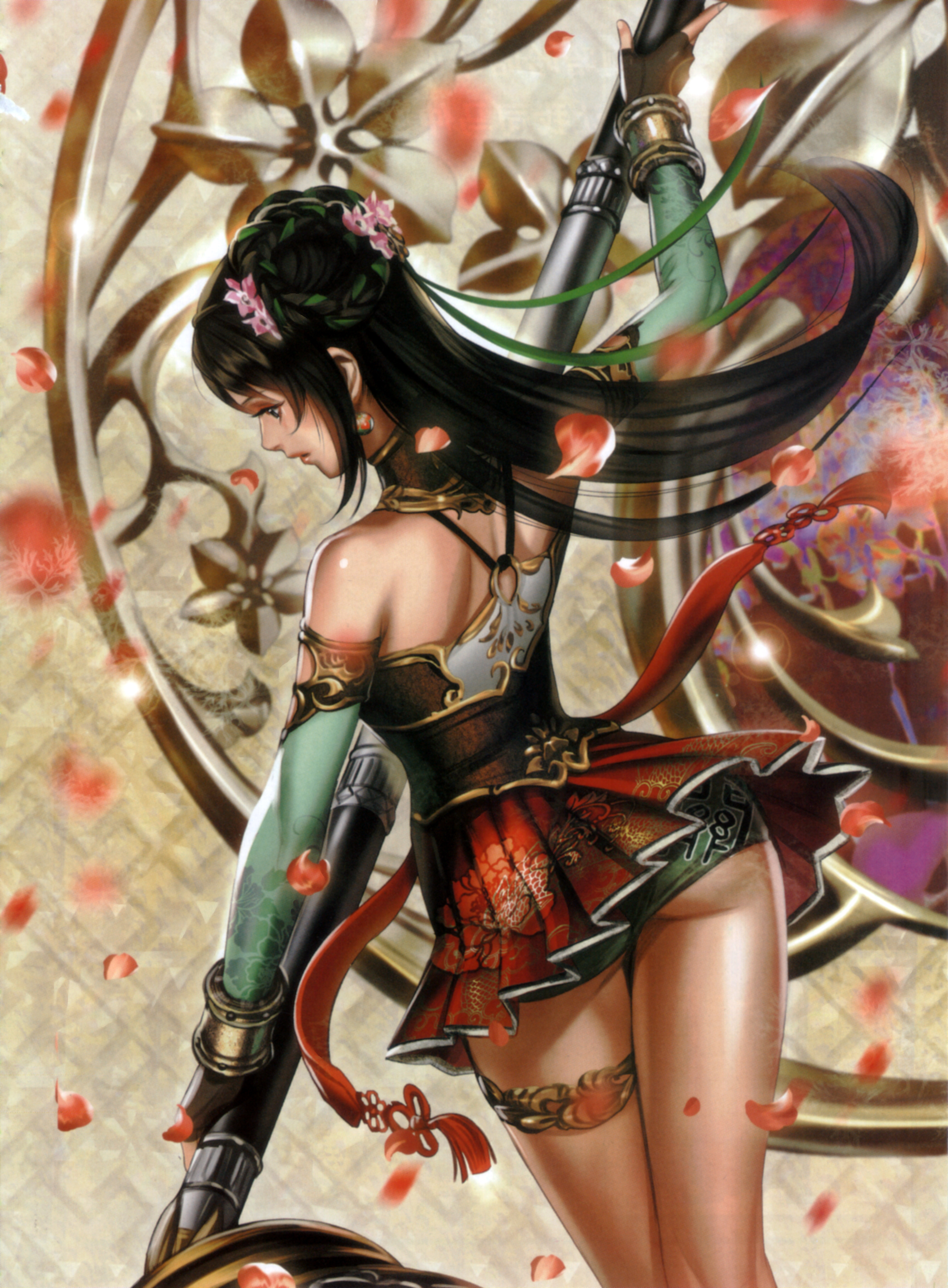 Dynasty warriors erotic naked sensual boob