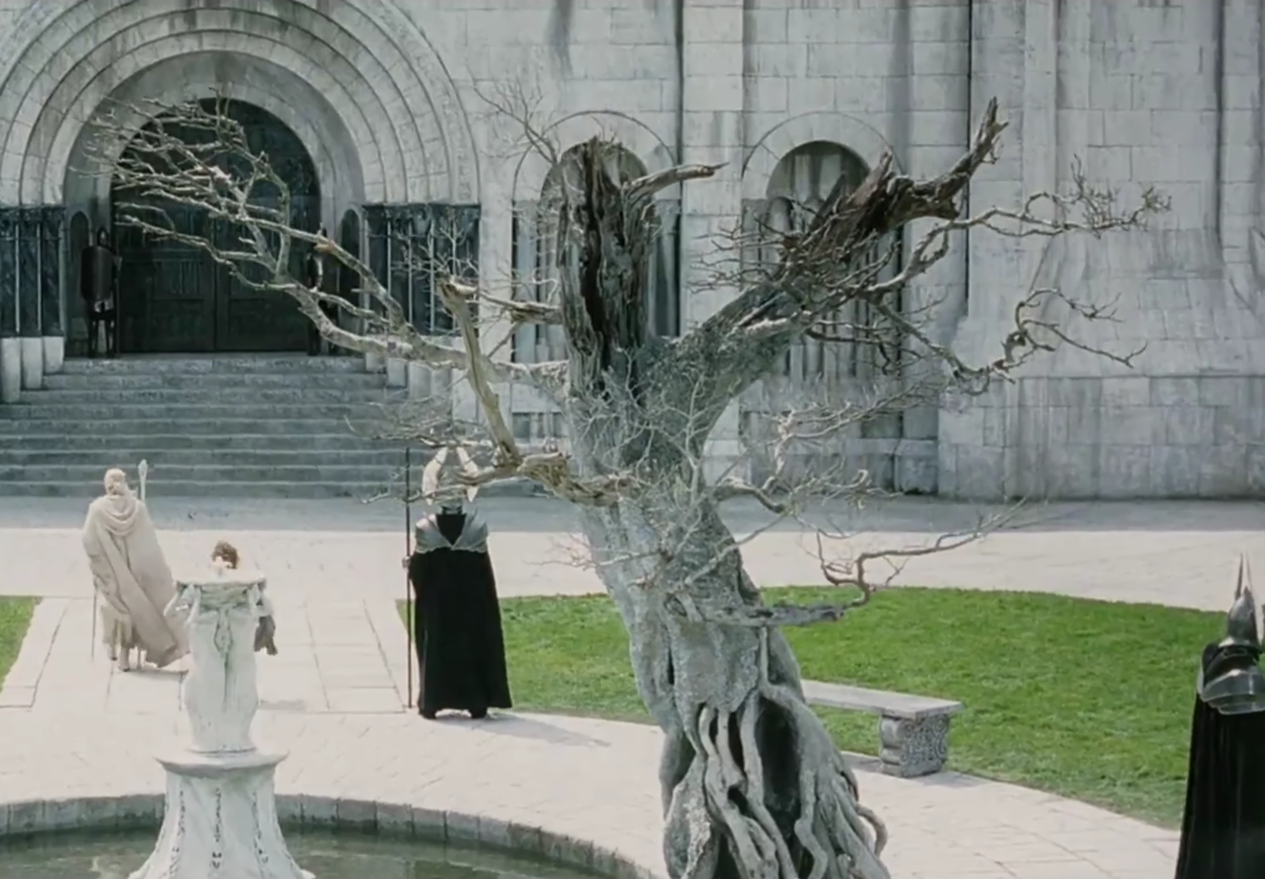 white tree of gondor lord of the rings wiki