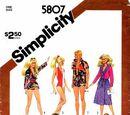 Simplicity 5807 B