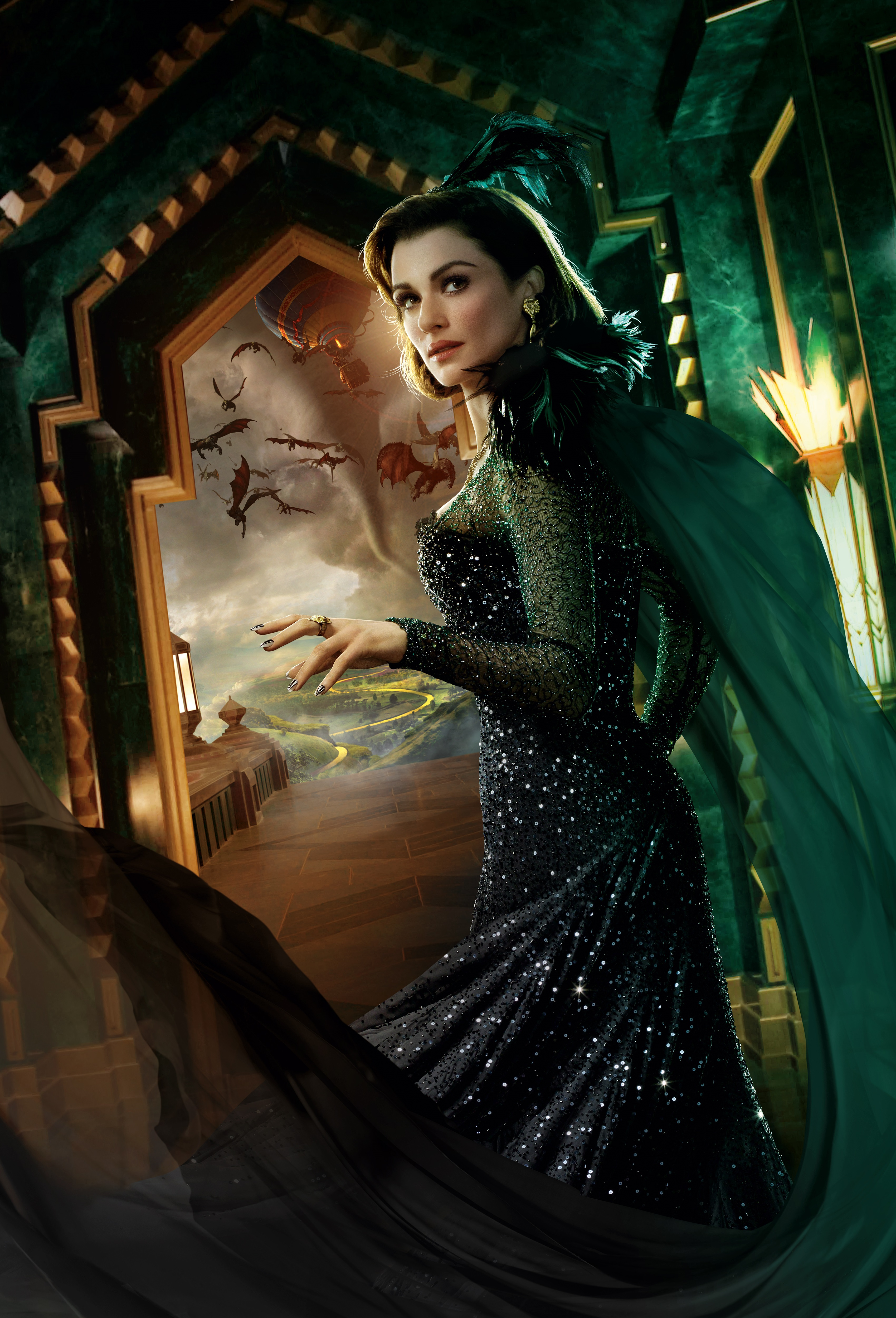 Evanora the Wicked Witch of the East jpgOz The Great And Powerful Evanora True Form