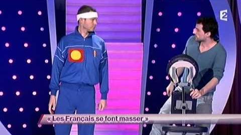 Les Français se font masser