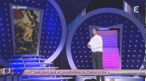 C'est moi qui ai vandalisé le Delacroix