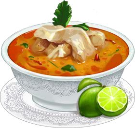 Recipe-Chicken Coconut Soup