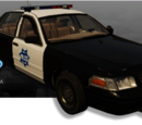 Ford Crown Victoria Police Interceptor (Driver: San Francisco)
