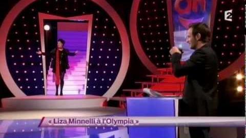 Liza Minnelli à l'Olympia