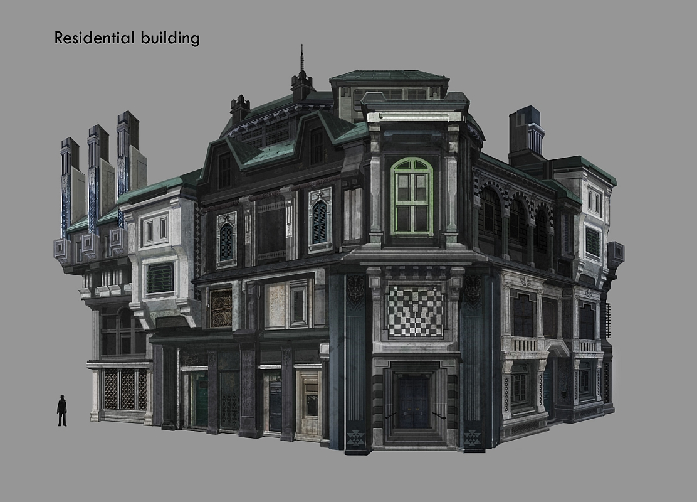 Lrffxiii Residential Building Concept