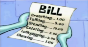 """Squid on Strike"" bill"
