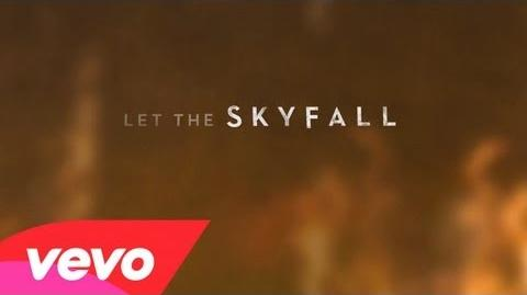 Skyfall (lyric video)